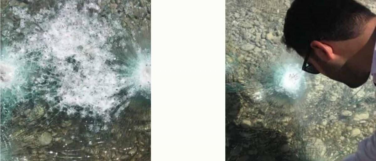 تصویر شماره  نحوه تولید و تشخیص شیشه ضد گلوله ؛ سفارش شیشه ضد گلوله