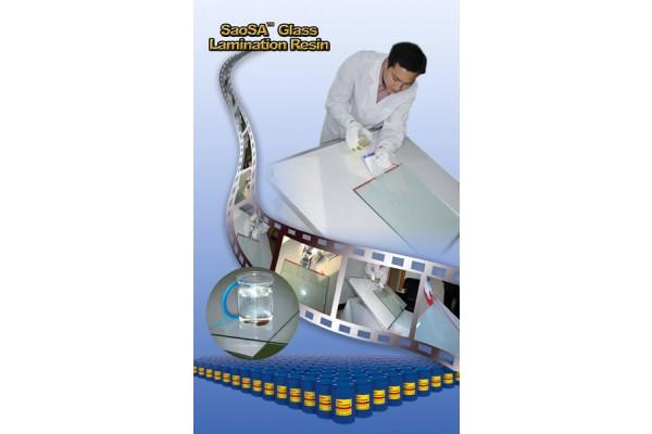 فروش رزین لمینت شیشه با اموزش