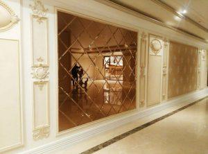 معرفی انواع آینه کاری در ساختمان