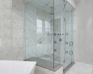 وان جکوزی و حمام شیشه ای – کاشی آرارات