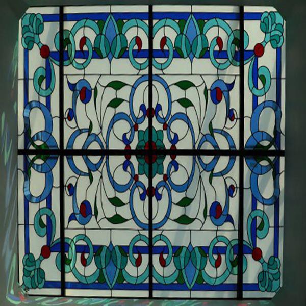کاربرد شیشه های تزئینی استیند گلس ( استین گلاس ) در سازه های دکوراتیو