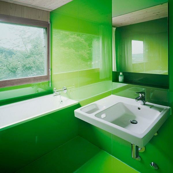 کاربرد شیشه های لاکوبل در حمام