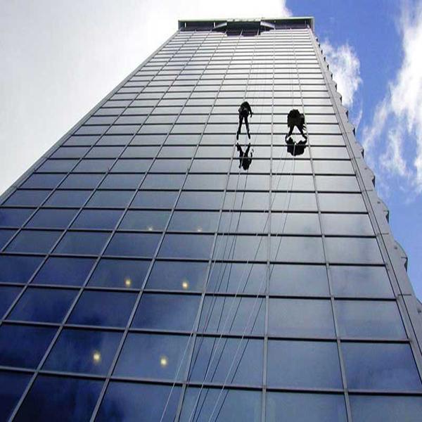 نحوه ساخت ساختمان های بلند شیشه ای