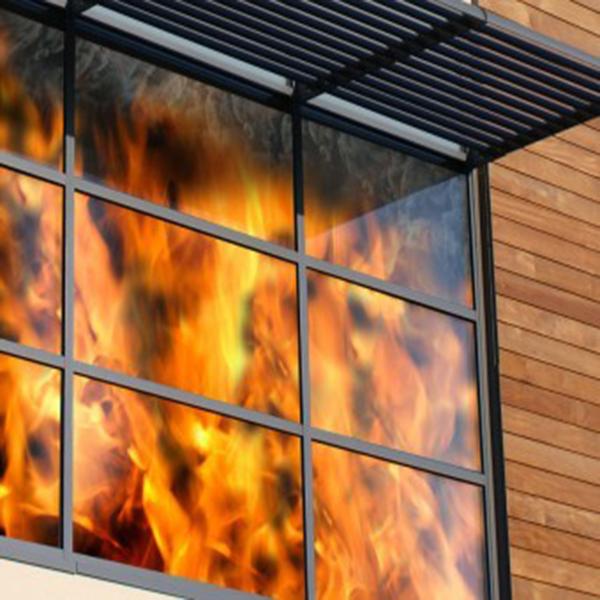معرفی انواع استاندارد شیشه های ضد حریق