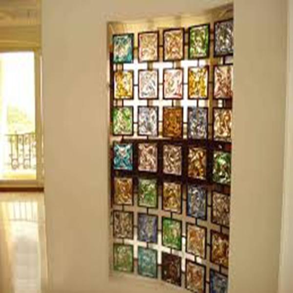 انواع شیشه های دکوراتیو