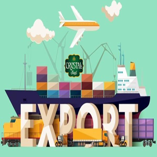 صادرات بلور و کریستال ایران به قلب اروپا