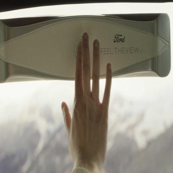 شیشه های هوشمندی که به نابینایان کمک می کند تا مناظر بیرون را لمس کنند