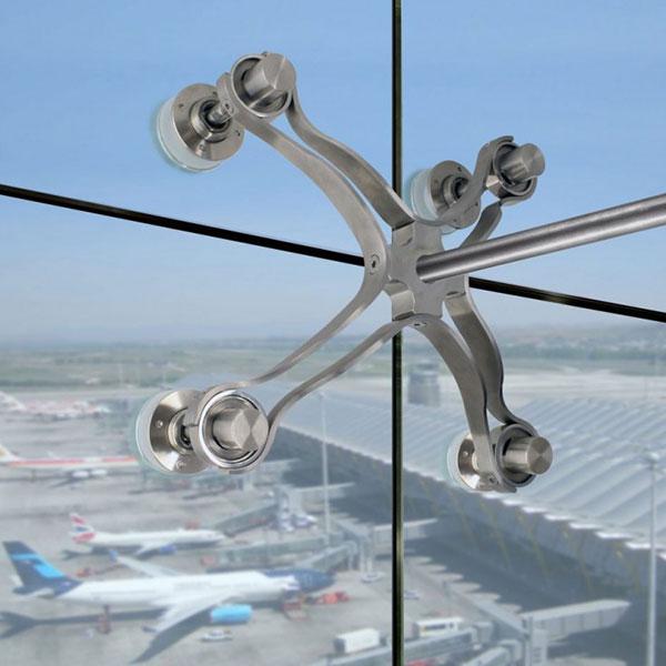 خرید انواع یراق آلات شیشه اسپایدر