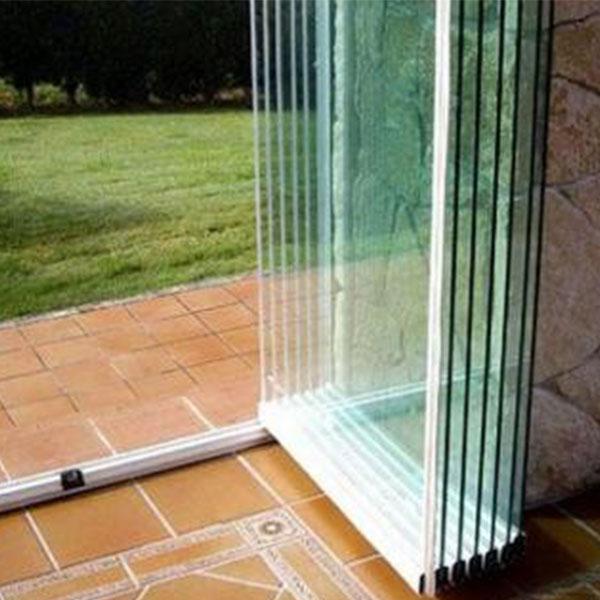 شیشه های آکاردئونی