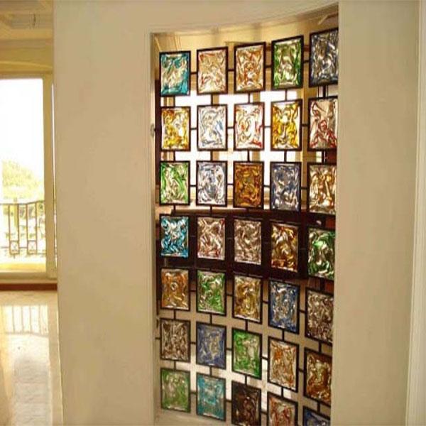 شیشه تزئینی در دکوراسیون داخلی ؛ سفارش شیشه تزئینی