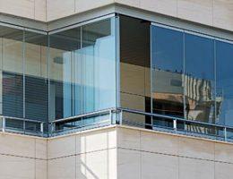 شیشه سکوریت بالکنی