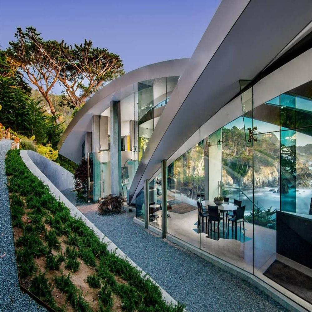 دیزاین هتل های لوکس و مدرن با استفاده از شیشه سکوریت و شیشه لمینت