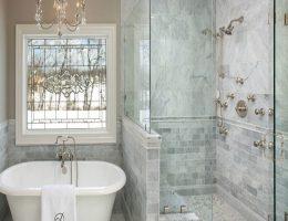 نحوه ی شستشوی کابین شیشه حمام